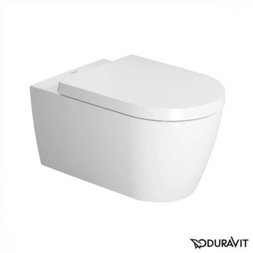 Duravit ME by Starck Wand-Tiefspül-WC weiß mit WonderGliss