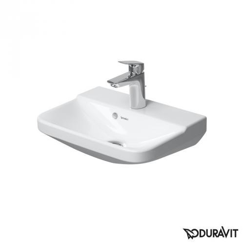 Duravit P3 Comforts Handwaschbecken weiß, mit 1 Hahnloch