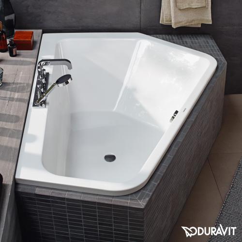Duravit Paiova 5 Eck-Badewanne, Einbauversion Eckeinbau rechts