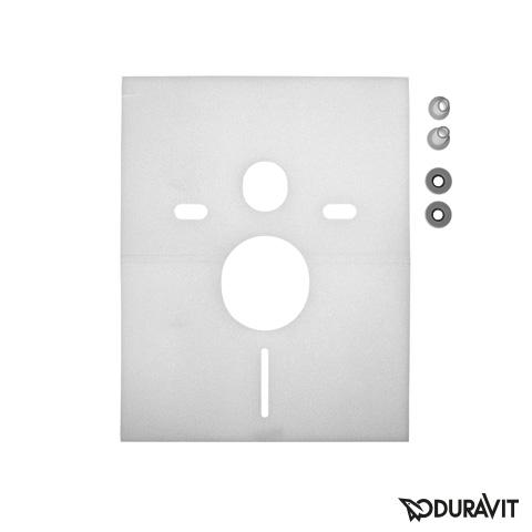 Duravit Schallschutz-Set für Wand WC