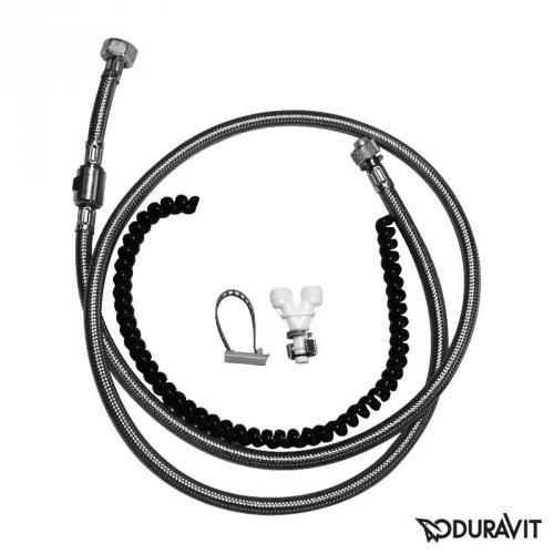 Duravit SensoWash® Anschluss-Set für Geberit Monolith WC-Elemente