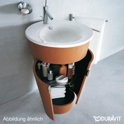 Duravit Starck 1 Waschtischunterbau stehend macassar