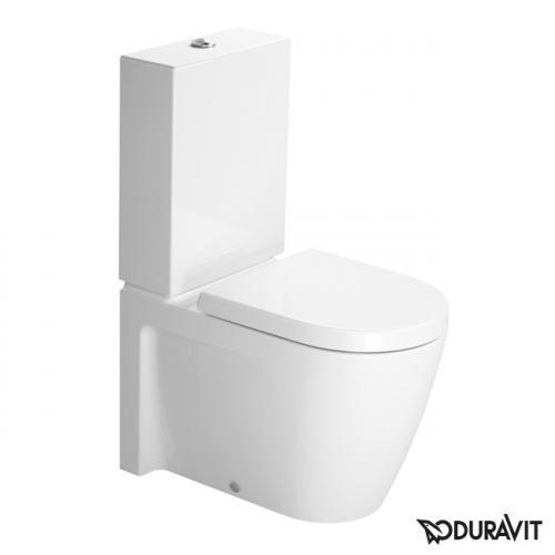 duravit starck 2 stand tiefsp l wc kombination wei mit wondergliss 21450900001 reuter. Black Bedroom Furniture Sets. Home Design Ideas