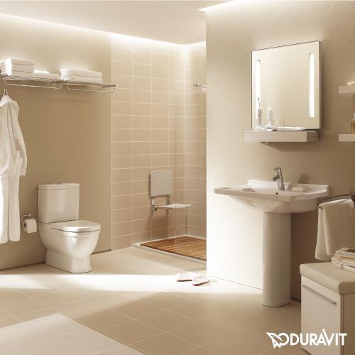 Duravit Starck 3 Spülkasten für Aufsatzmontage weiß Anschluss links/rechts/mittig