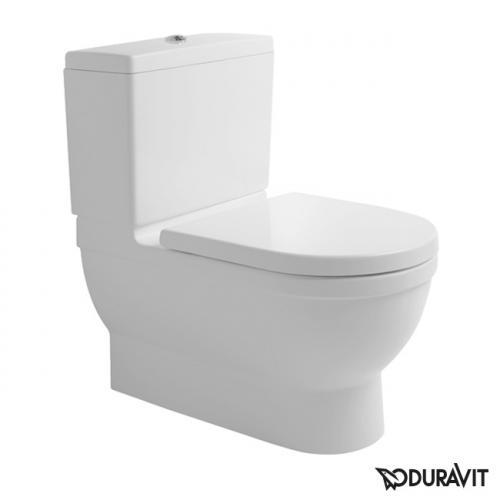 Duravit Starck 3 Stand-Tiefspül-WC für Kombination Big Toilet weiß
