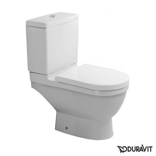 Duravit Starck 3 Stand-Tiefspül-WC für Kombination, Abgang waagerecht weiß