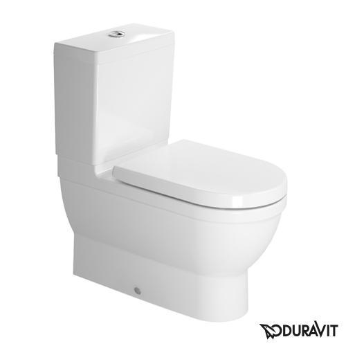 Duravit Starck 3 Stand-Tiefspül-WC Kombination weiß