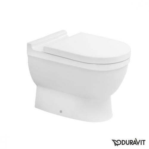 Duravit Starck 3 Stand-Tiefspül-WC weiß