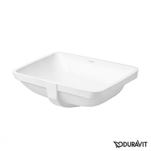 Duravit Starck 3 Unterbauwaschtisch, f-bonded mit Sonderschliff für Duravit Möbel weiß