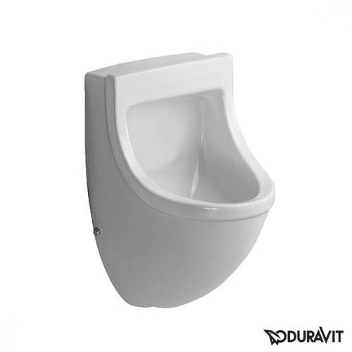 Duravit Starck 3 Urinal, Zulauf von hinten weiß, Modell ohne Fliege