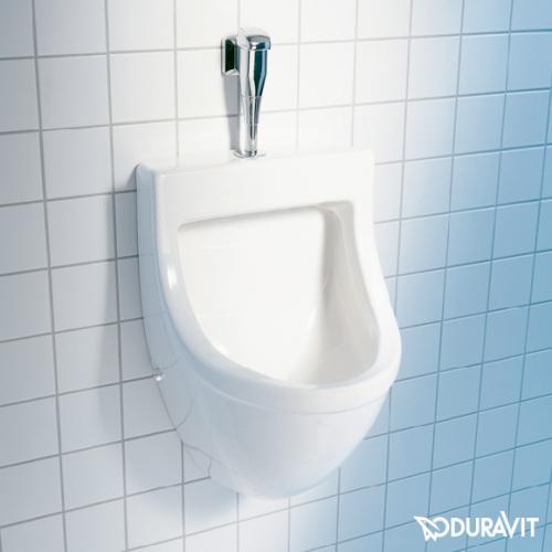 Duravit Starck 3 Urinal, Zulauf von oben weiß