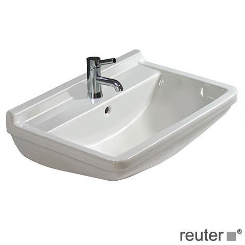 Duravit Starck 3 Waschtisch weiß, mit 1 Hahnloch