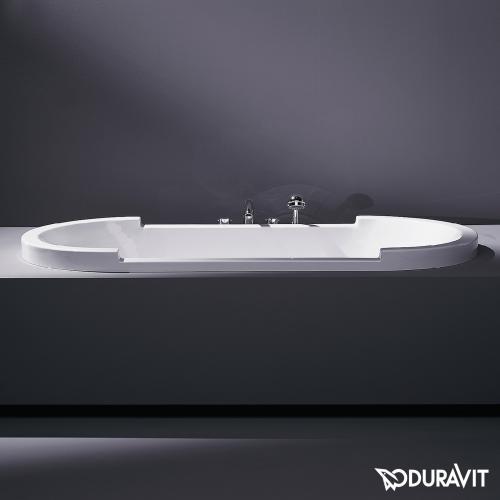 Duravit Starck Oval Badewanne, Einbauversion