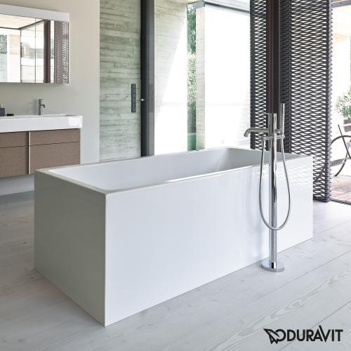 Duravit Vero Air freistehende Rechteck-Badewanne mit Verkleidung