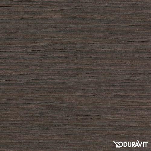 Duravit Vero Hochschrank mit 1 Spiegeltür eiche dunkel gebürstet