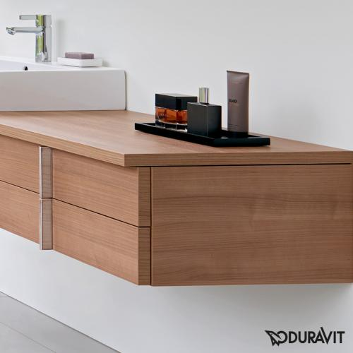 duravit vero konsole f r 1 aufsatz einbauwaschtisch tessiner kirschbaum ve096c07373 120 reuter. Black Bedroom Furniture Sets. Home Design Ideas