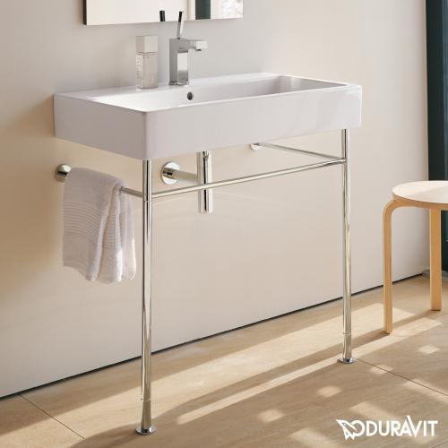 duravit vero metallkonsole f r waschtische 80 cm. Black Bedroom Furniture Sets. Home Design Ideas