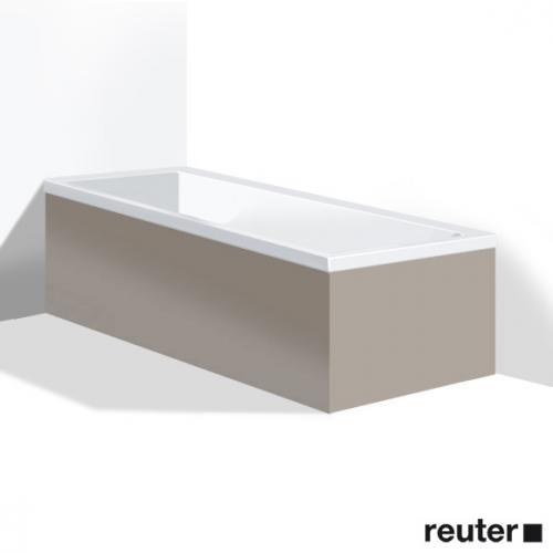 Duravit Vero Möbelverkleidung für Bade-/Whirlwanne, Ecke links basalt matt