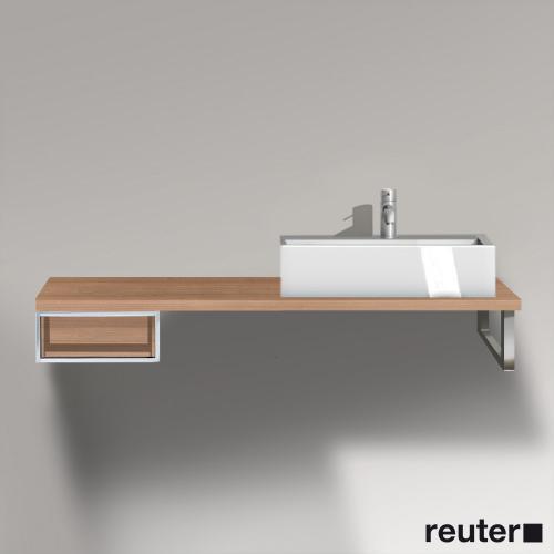 duravit vero unterschrank f r konsole mit 1 offenen fach tessiner kirschbaum ve654607373 reuter. Black Bedroom Furniture Sets. Home Design Ideas