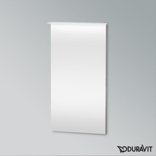 Duravit X-Large Spiegel mit LED-Beleuchtung eiche kaschmir