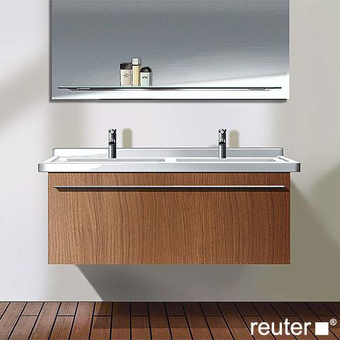 Duravit X-Large Waschtischunterschrank für Doppelwaschtisch mit 1 ... | {Doppelwaschtisch duravit 74}