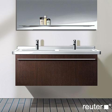 Doppelwaschtisch duravit  Duravit X-Large Waschtischunterschrank für Doppelwaschtisch mit 1 ...