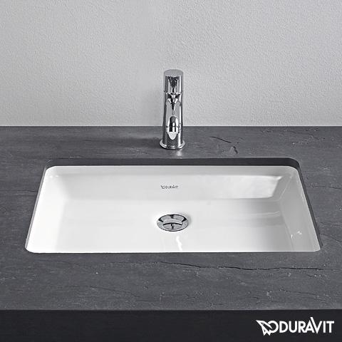 Duravit 2nd Floor Unterbauwaschtisch weiß