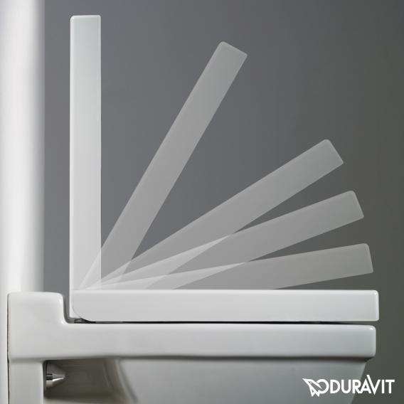 Duravit 2nd Floor WC-Sitz mit Absenkautomatik soft-close