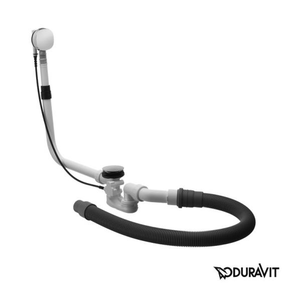 Duravit Ab- und Überlaufgarnitur Quadroval