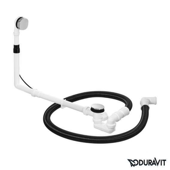 Duravit Ab- und Überlaufgarnitur Quadroval, Komplett-Set
