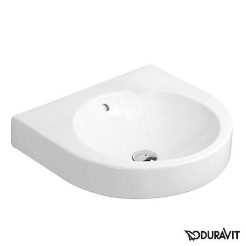 Duravit Architec Waschtisch weiß, ohne  Hahnloch, mit Überlauf