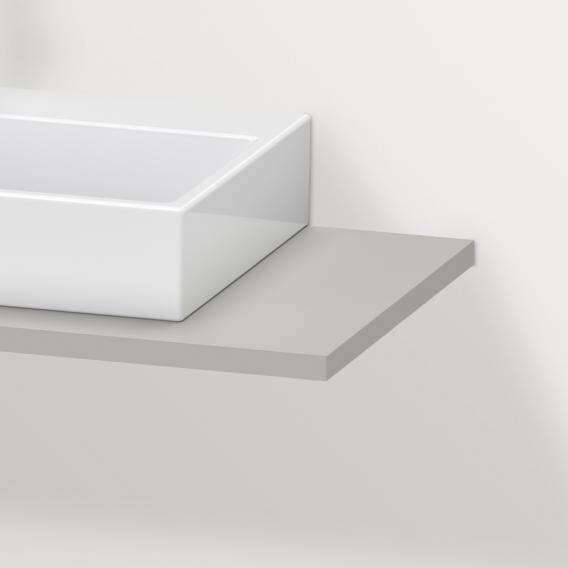 Duravit Brioso Konsole für 1 Aufsatz-/Einbauwaschtisch betongrau matt