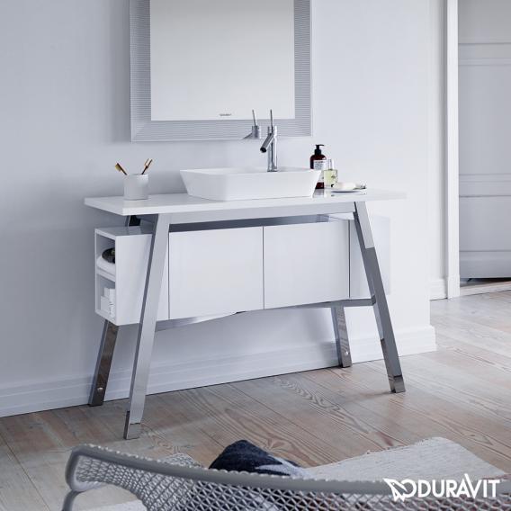 Duravit Cape Cod Waschtischunterbau mit integriertem Unterschrank weiß hochglanz