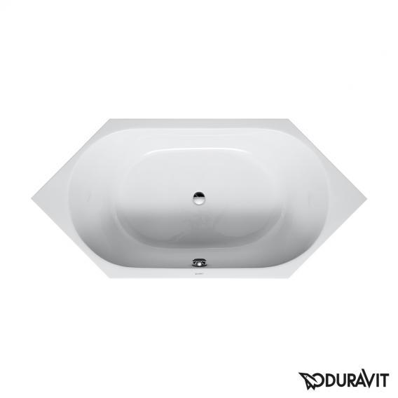 Duravit D-Code Sechseck-Badewanne, Einbauversion