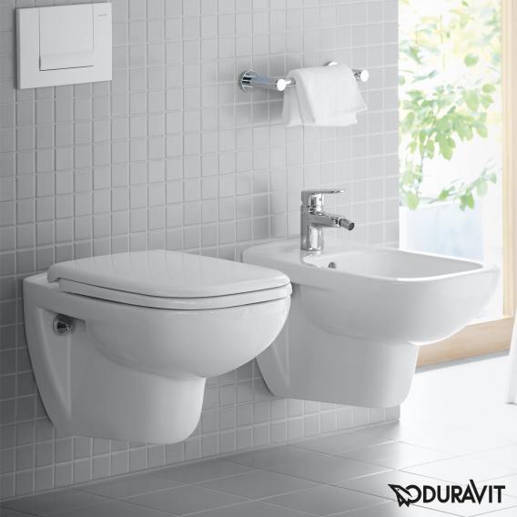 Duravit D-Code WC-Sitz Vital weiß, ohne Absenkautomatik soft-close