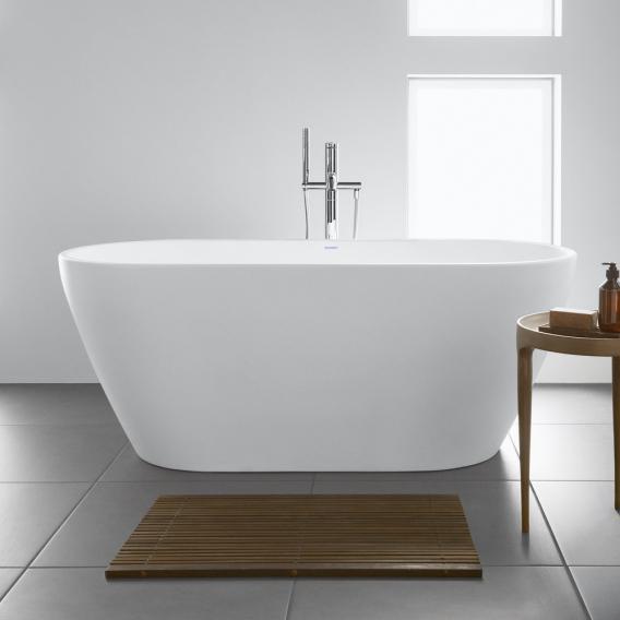 Duravit D-Neo Freistehende Oval-Badewanne weiß, ohne Überlauf
