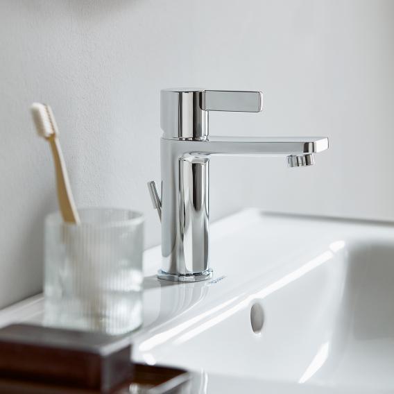 Duravit D-Neo Einhebel-Waschtischmischer M FreshStart mit Ablaufgarnitur