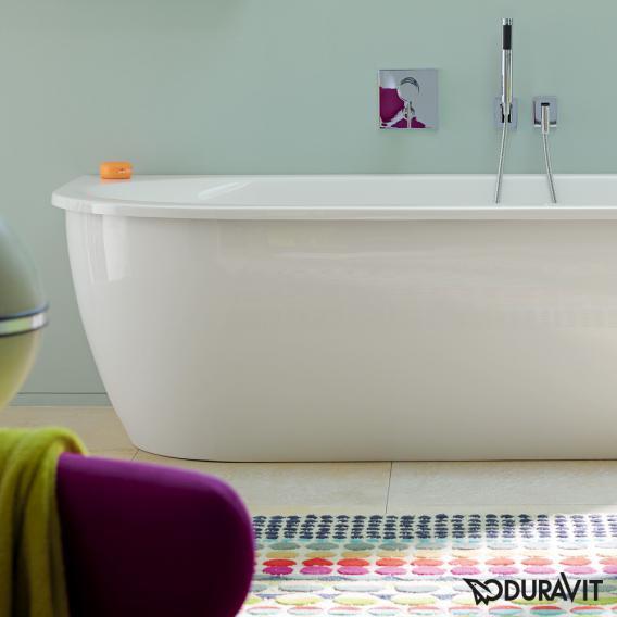 Duravit Darling New Eck-Badewanne mit Verkleidung, Eckeinbau rechts