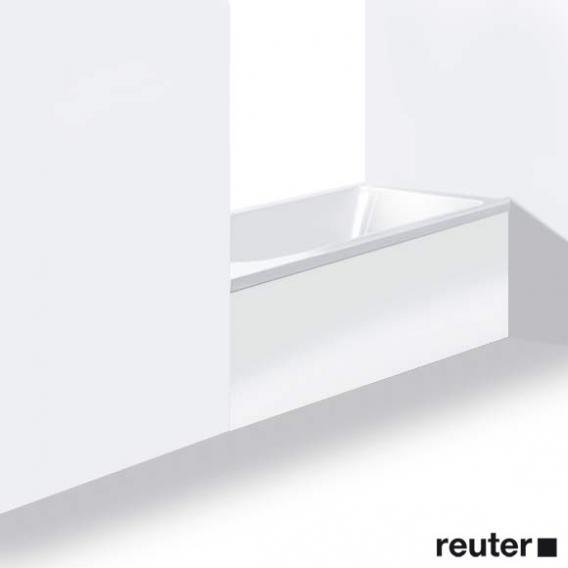 Duravit Darling New Möbelverkleidung für Bade-/Whirlwanne, Nische weiß