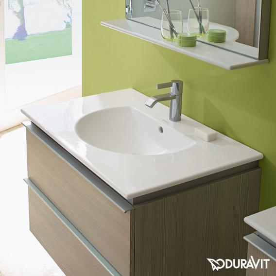 Duravit Darling New Möbelwaschtisch weiß, mit 1 Hahnloch