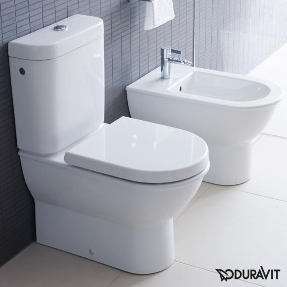 Duravit Darling New Stand-Tiefspül-WC Kombination weiß