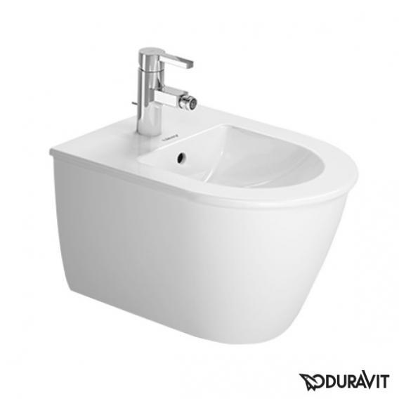 Duravit Darling New Wand-Bidet Compact weiß mit Hahnloch