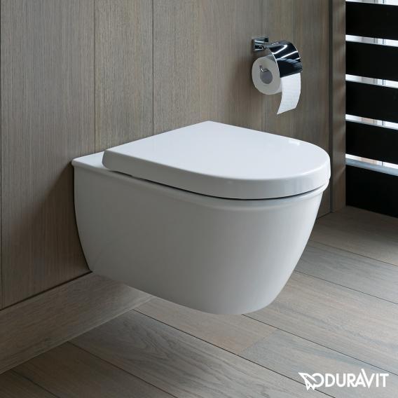 Duravit Darling New Wand-Tiefspül-WC, rimless weiß, mit WonderGliss