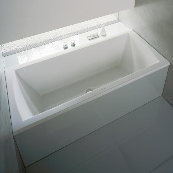 Duravit Daro Rechteck-Badewanne, Einbau
