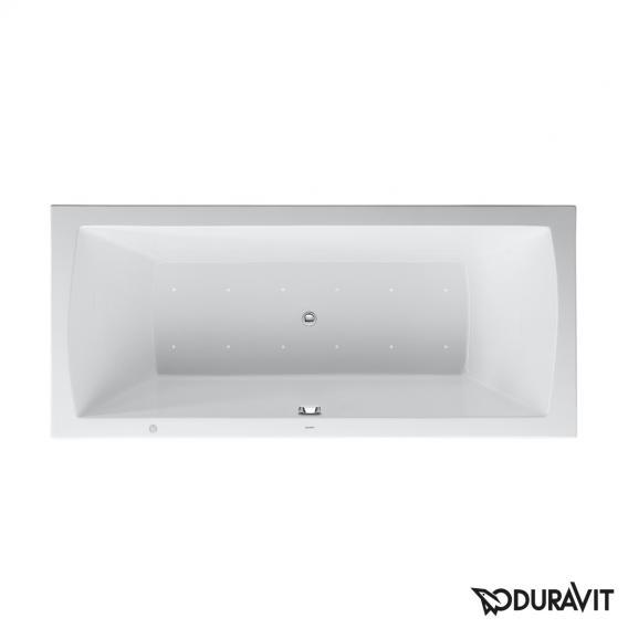 Duravit Daro Rechteck-Whirlwanne, Einbauversion mit Air-System