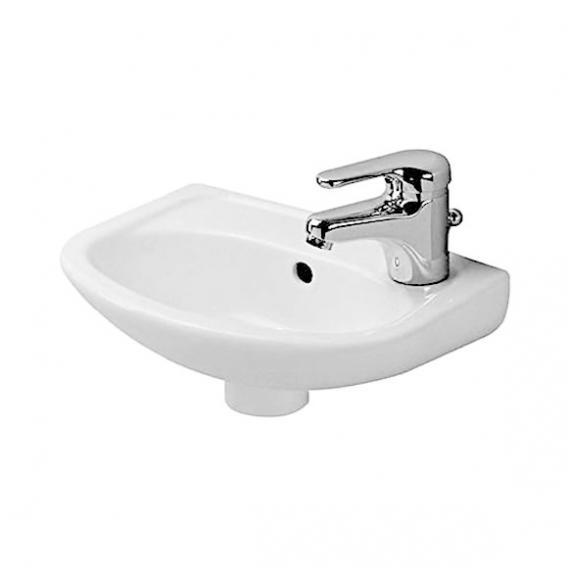 Duravit Duraplus Handwaschbecken Compact weiß, ohne Hahnloch