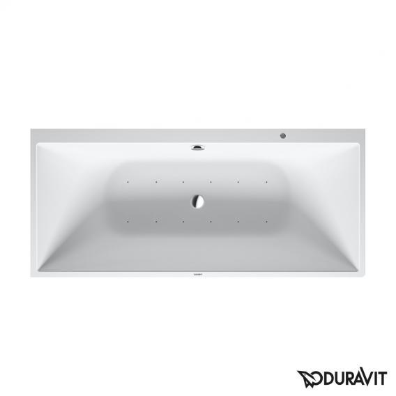 Duravit DuraSquare Rechteck-Whirlwanne mit Verkleidung, Vorwandversion mit Air-System