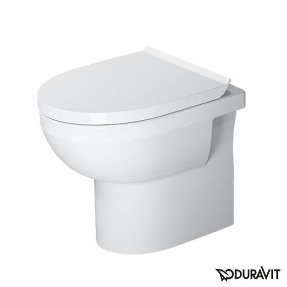 Duravit DuraStyle Basic Stand-Tiefspül-WC Set, rimless, mit WC-Sitz weiß