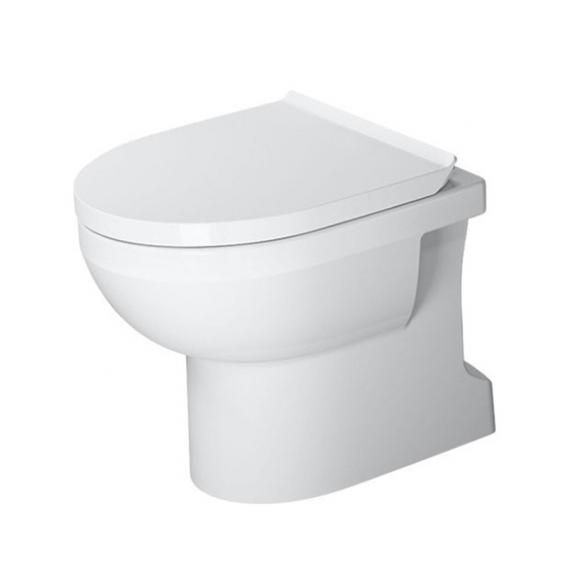 Duravit DuraStyle Basic Stand-Tiefspül-WC, rimless weiß, mit WonderGliss