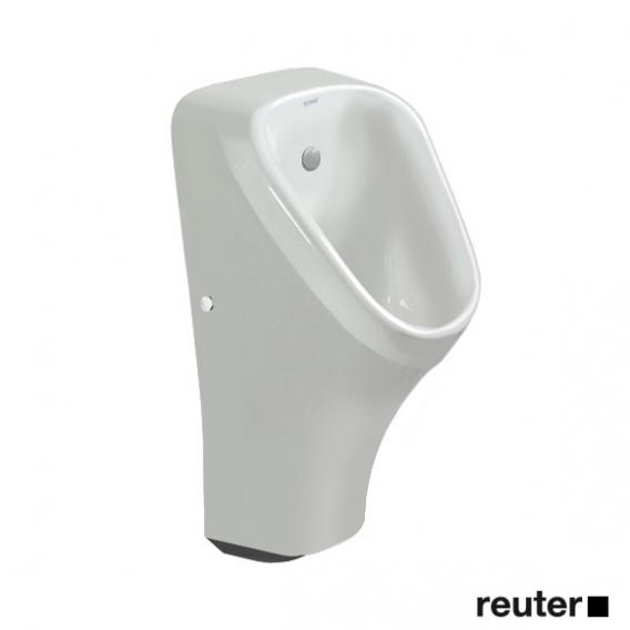 Duravit DuraStyle Elektronik-Urinal, Zulauf von hinten weiß